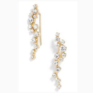 🎄🎁 Baublebar Farrah Ear Crawlers Earrings 🎁🎄